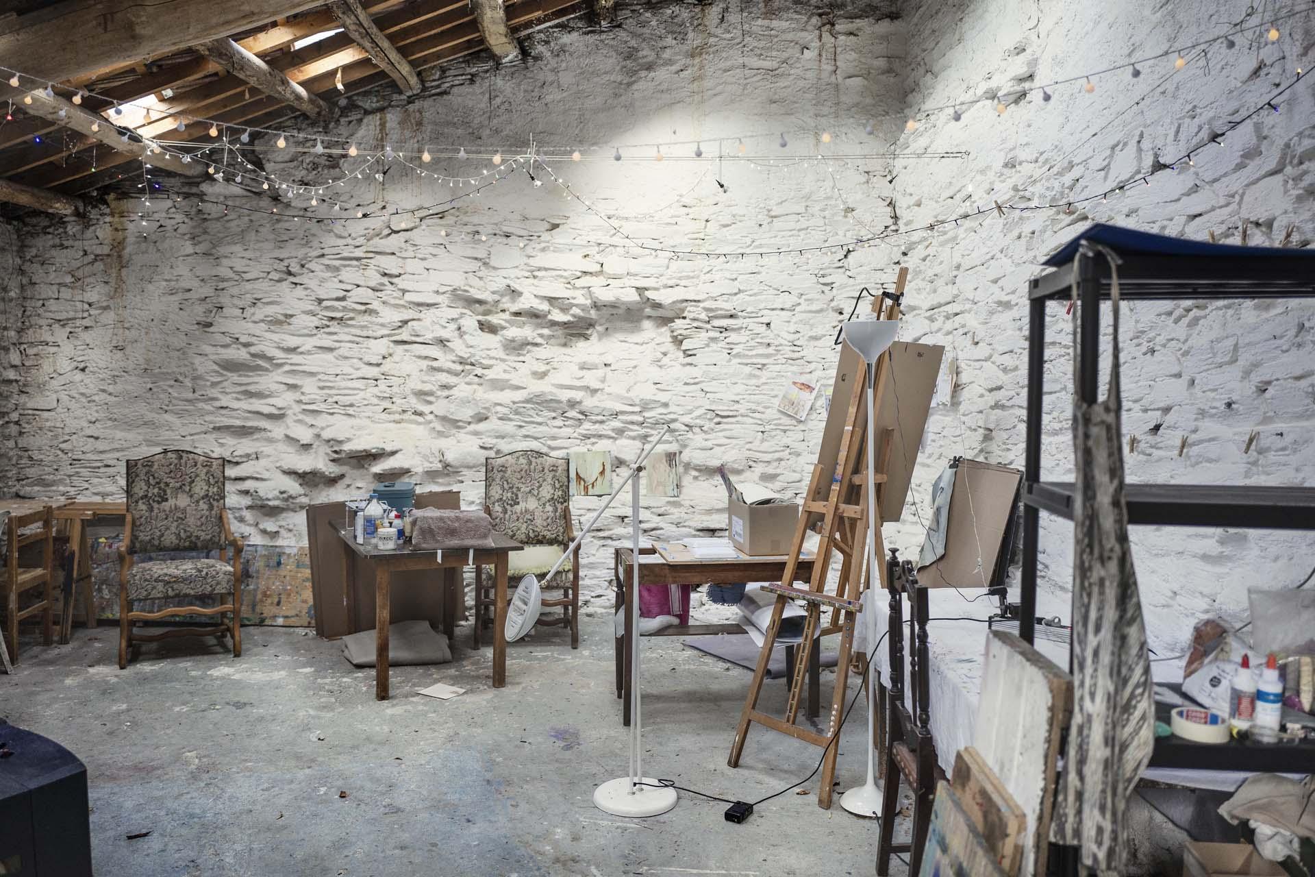 Atelier - La Muse - Retraite d'artistes et d'écrivains