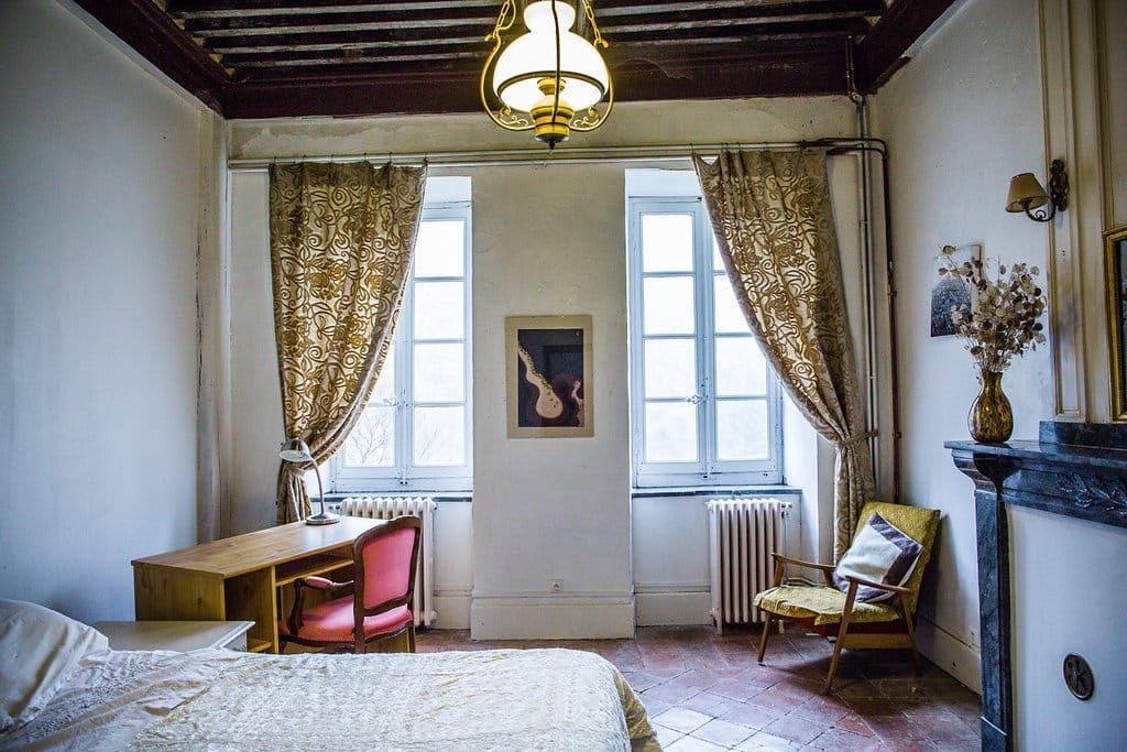 Chambre Urania - La Muse - Retraite d'artistes et d'écrivains